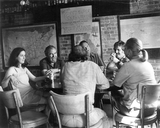 Another scene, this one inside, the Quiet Man pub in Dallas, on a Saturday afternoon circa 1970.