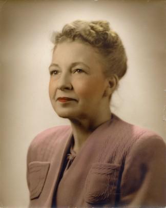 Maurine Emily (Tanberg) Litton b. Feb. 23, 1910, Eau Claire, WI d. Dec. 19, 1994, Dallas, TX