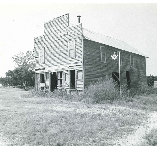 Old Masonic Lodge on Hwy 67 somewhere between Brownwood and Dallas