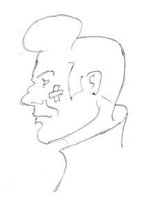 My attempt at rendering Elbert's doodle of a