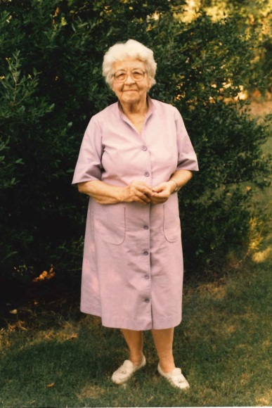 Maurine Emily Tanberg-Litton-Smithart about a year before she died in Dallas