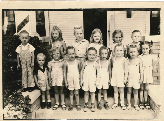 School Photo 1945